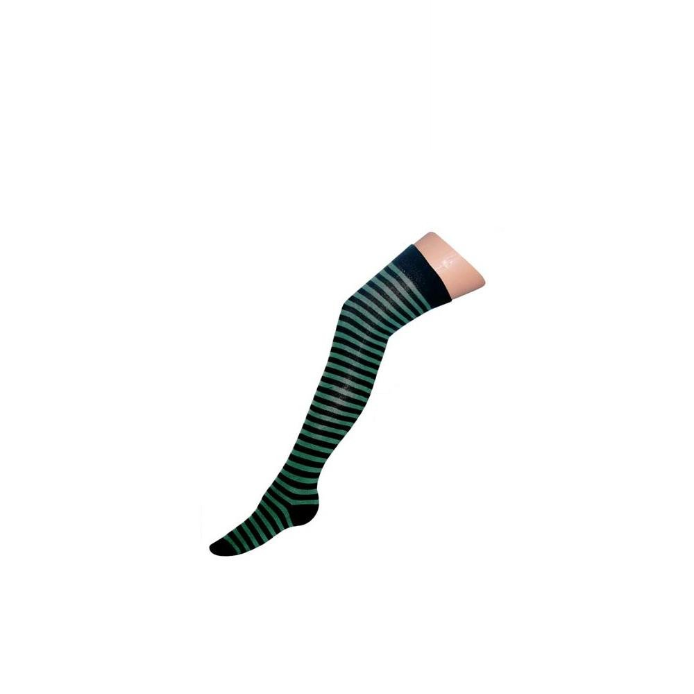 Macahel Ladies Striped Over the knee Socks size