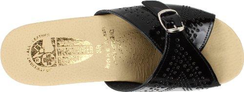 Worishofer Kvindernes 251 Sandal Sort Patent 0J27CpjVw
