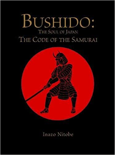 Bushido The Soul Of Japan Code Samurai Chinese Bound Hardcover October 20 2016