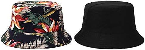 Unisex Outdoor Foldable Straw Hat Floral Sun Block Wide Brim Cap Sun Hats Sunbonnet Woman Beach Travel