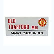 Manchester United FC. Metal Street Sign