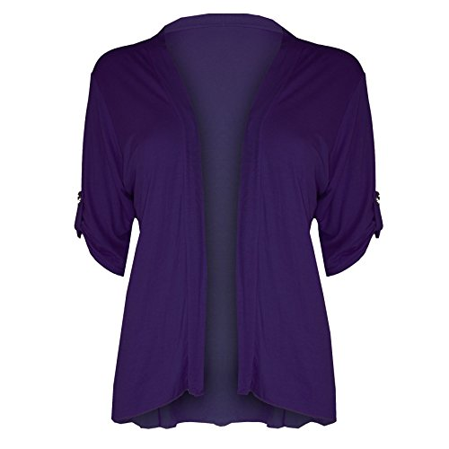 Oops Outlet-Chaqueta para mujer Lila - Dinnerparty Nightout Clubbing