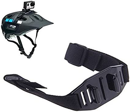 Letrino Helm Strap Kopf Gürtel Go Pro Mount Halterung Adapter Für Gopro Hero 5 4 3 3 01 02 Xiaomi Yi Kamera Garten