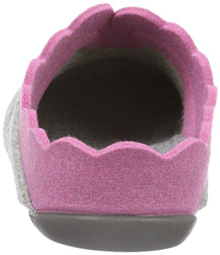 pink Nesrin Florett Damen Pantoffeln Grau aqqIw5TP