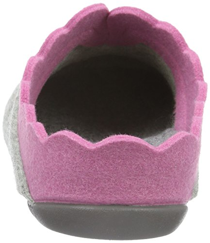 Florett Nesrin, Chaussons Femme Multicolore - Mehrfarbig (Grau-pink 615)