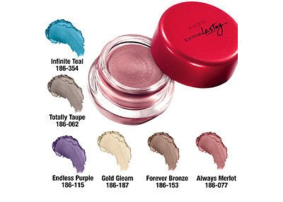 Avon Extra Lasting Eye Shadow Ink Always Merlot (Shimmery Rose Purple)