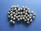 48 Silver 13mm Jingle Bells for Crafts | Craft Bells