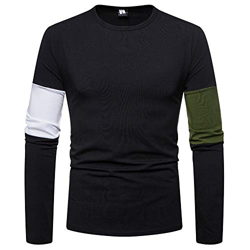 (Toimothcn Mens Fitness Hoodie Pure Color Zipper Pullover Long Sleeve Hooded Sweatshirt Tops Blouse(Black4,M))