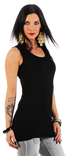 Mellice - Camiseta sin mangas - Básico - para mujer negro