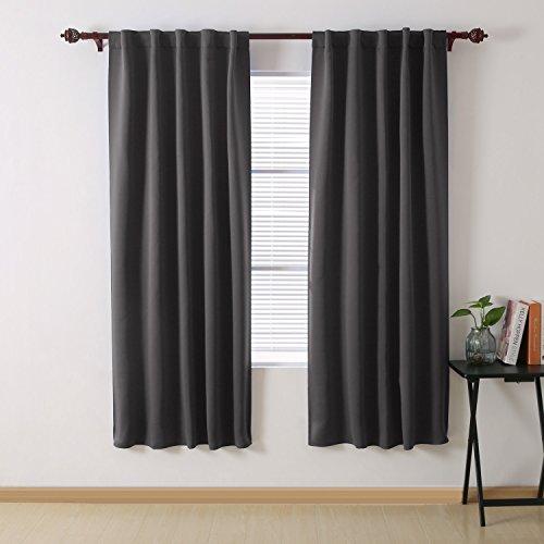 Cheap  Deconovo Blackout Curtain Panels for Bedroom Room Darkening Back Tab/Rod Pocket Curtains..