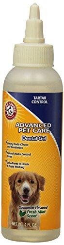 tal Care Tartar Control Dental Gel for Dogs | Reduces Plaque & Tartar Buildup, 4 ounces, Mint Flavor ()