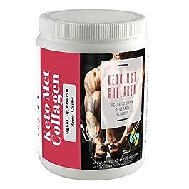 Sharrets Keto MCT Collagen Powder, ZERO CARBS, 200g – Keto Collagen Supplement, Keto supplements weight management…
