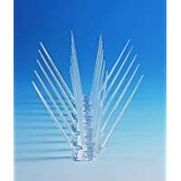 BirdFlee Polycarbonate Bird Spikes 5 pcs. Set