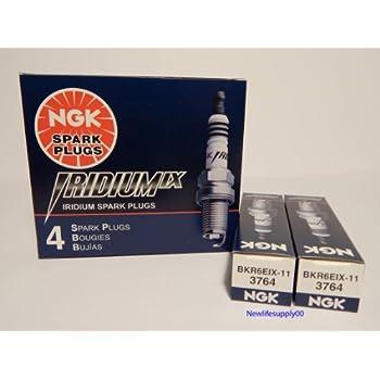 NGK 3764 Iridium Spark Plug BKR6EIX-11 - 6 PCS *NEW*