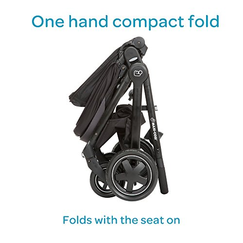 Maxi-Cosi Adorra Modular Stroller, Devoted Black