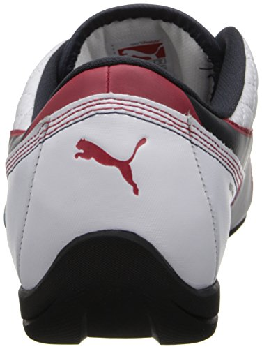 Puma Mens Bmw Ms Drift Cat 6 Motorsport Fashion Sneaker White / Bmw Team Blue