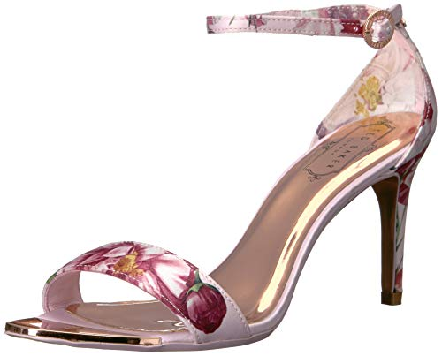 Ted Baker Women's MYLLI Pump, Pink Iguazu Satin, 6 Medium US (Dress Ted Baker Print)