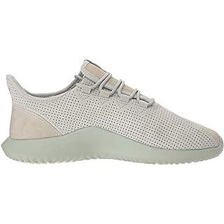 adidas Originals Men's Tubular Shadow Running Shoe, ash Silver/Chalk White/ash Silver, 5 M US