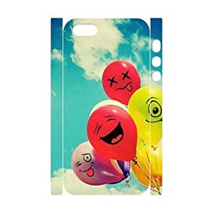 Balloons 3D-Printed ZLB809016 Brand New 3D Cover Case for Iphone 5,5S by icecream design
