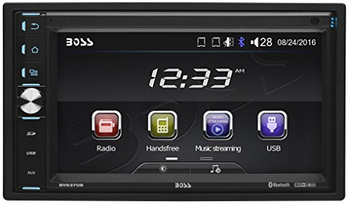 BOSS Audio BV9370B Double Din, Touchscreen, Bluetooth, MP3/USB/SD AM/FM Car Stereo, 6.5 Inch Digital LCD Monitor, Wireless Remote (NO CD/DVD)