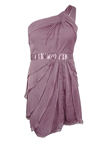 Adrianna Papell Womens Shoulder Cocktail