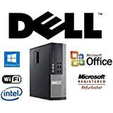 Optiplex Quad Core Desktop i7-2600 3.4GHz CPU Windows 10 Pro 32GB RAM/New 1TB Solid State Drive SSD/WiFi/PC Computer System + MS Office