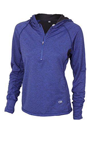 Club Ride Women's Sprint Hoodie - Dazzle Blue - Medium