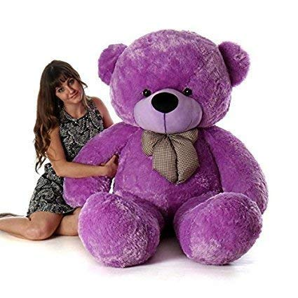 Teddy Bear with Neck Bow for Girlfriend