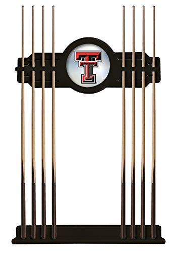 Holland Bar Stool Co. Texas Tech Cue Rack in Black Finish