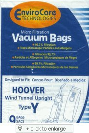 Hoover WindTunnel Upright Type Y/Z -