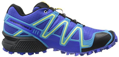 SalomonSpeedcross 3 CS - Zapatillas de Running para Asfalto Mujer Azul - Blau (Cobalt/Blue Line/Black)