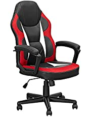 Need Gaming Chair E-Sports Computer Chairs Executive Ergonomic Adjustable Swivel Task Chair with Lumbar Support Gaming Office Desk Chair AE20CR