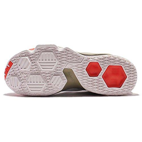 Nike Mens Lebron Xiii Low Lmtd Ep, Fantasma / Fantasma Naturale Arancione Oliva Verde, 8,5 M Us
