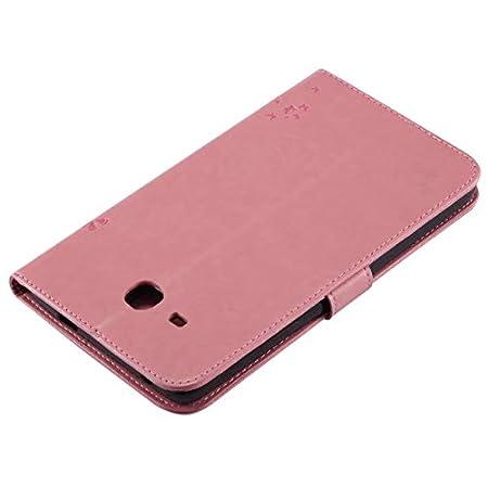 XITODA Samsung Galaxy Tab A 7.0 pulgadas SM-T280 /Árbol del gato Rojo Ultra Delgado Ligero Cover Case Carcasa con Funci/ón del Soporte y Ranuras de Tarjetas para Samsung Galaxy Tab A 7 SM-T285 Funda