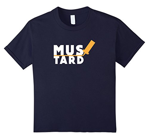 Kids Mustard - Easy Halloween Costume - Halloween 2017 Shirt 12 Navy (2017 Halloween Costumes For Guys)