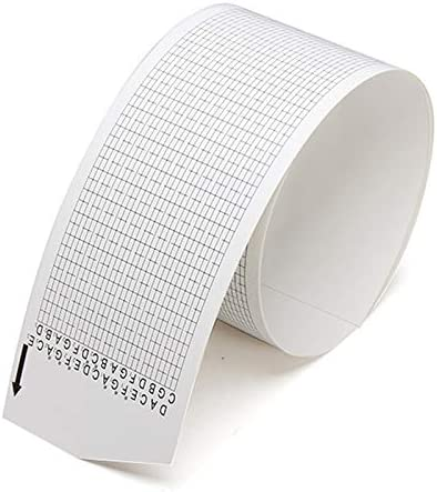 5pcs Blank Strips for 15 Note Hand Crank Music Box Using Punched Paper Strip