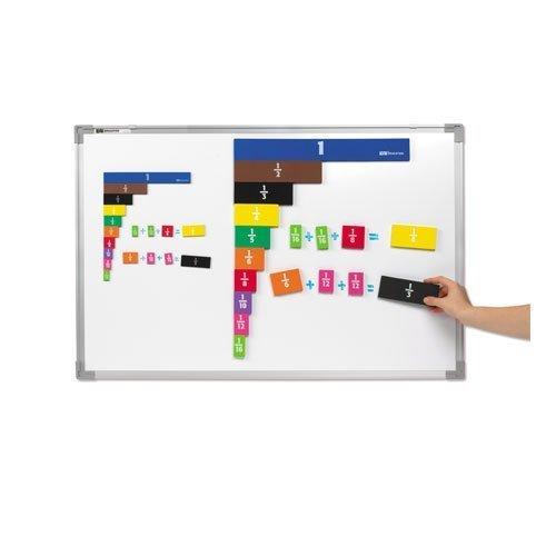 EAI Education Jumbo Magnetic QuietShape Foam Fraction Tiles