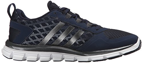 Adidas Originali Mens Freak X Carbon Mid Cross Trainer Collegiale Blu / Carbonio Metallizzato / Grigio Tech / Metallizzato