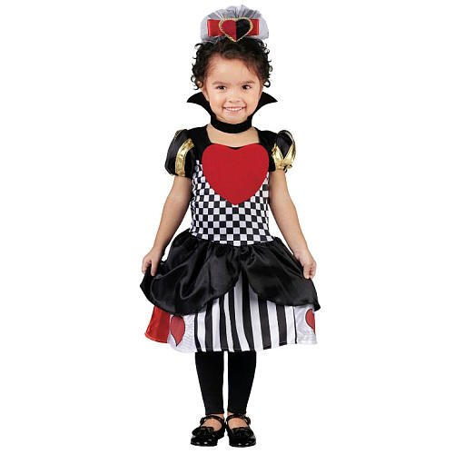 Toddler Queen of Hearts Small Alice Costume 24M-2T
