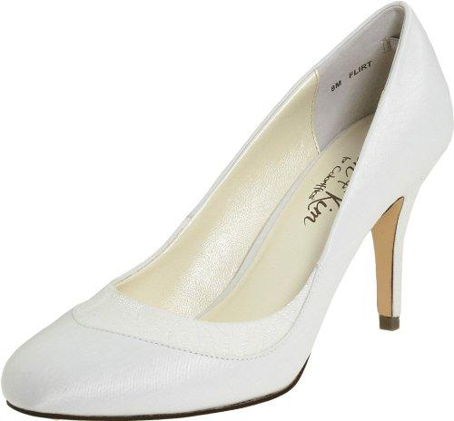 Flirt High Heel Heels (Jen + Kim for Coloriffics Women's Flirt Pump,Ivory,5.5 M US)