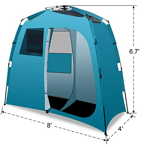 Strong Camel 2 Room Shower Tent Outdoor Portable Camping