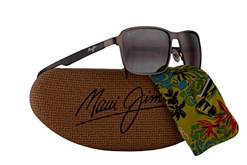 Maui Jim Glass Beach Sunglasses Brushed Sand w/Polarized Maui Rose Lens - Maui Koki Beach Jim