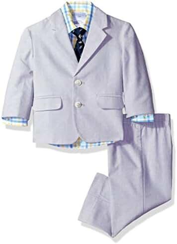 Nautica Baby Boys' Chambray Suit Set
