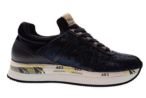 Liz Chaussures Sneakers 3002 Femme Bleu Bas Premiata xtdItq