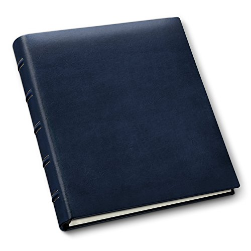 Gallery Leather Classic Leather Album, Navy