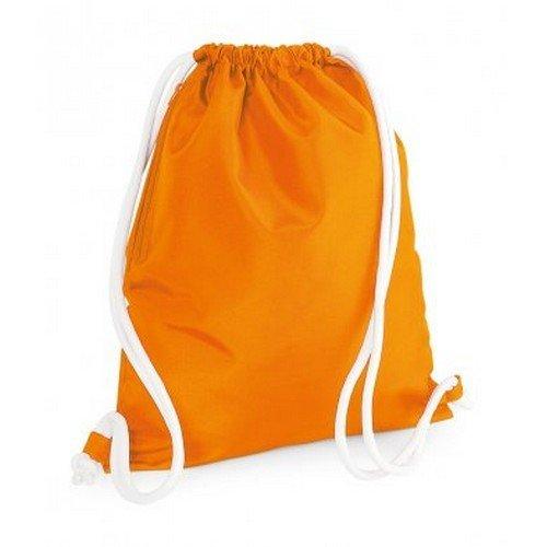 Drawstring Bag Gymsac Bagbase Orange Icon 0q5p4p