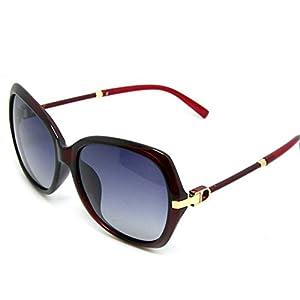 Classic Polarized Women's Sunglasses Vintage Sunglasses Sun Protection Mirror 6246,C1