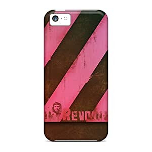 Tough Iphone AIV18480YgnG Cases Covers/ Cases For Iphone 5c(pink Revolution)