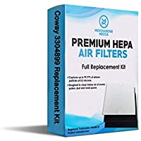 Merchandise Mecca Premium Replacement Filter for Coway AP1512HH Air Purifiers 3304899 with 2 Carbon Filters