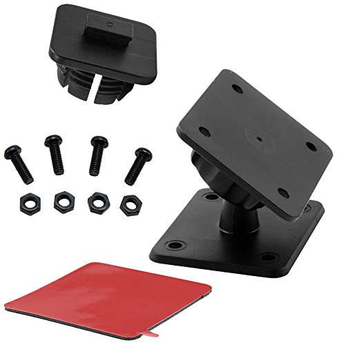 ARKON Satellite Radio Mount with Drill Base for Sirius XM Onyx Plus StarMate Sirius XM Lynx Sirius Dock and Play Satellite Radio -  APSRVHBKIT
